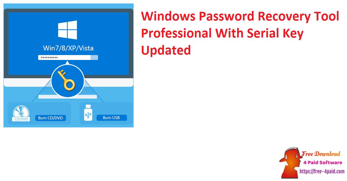 Windows Password Recovery Tool Ultimate Serial Key