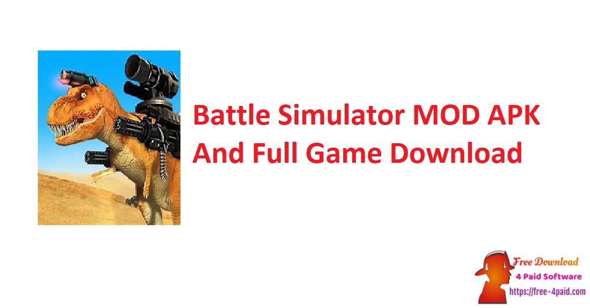 Battle Simulator V1.4.70 MOD APK And Full Game Download