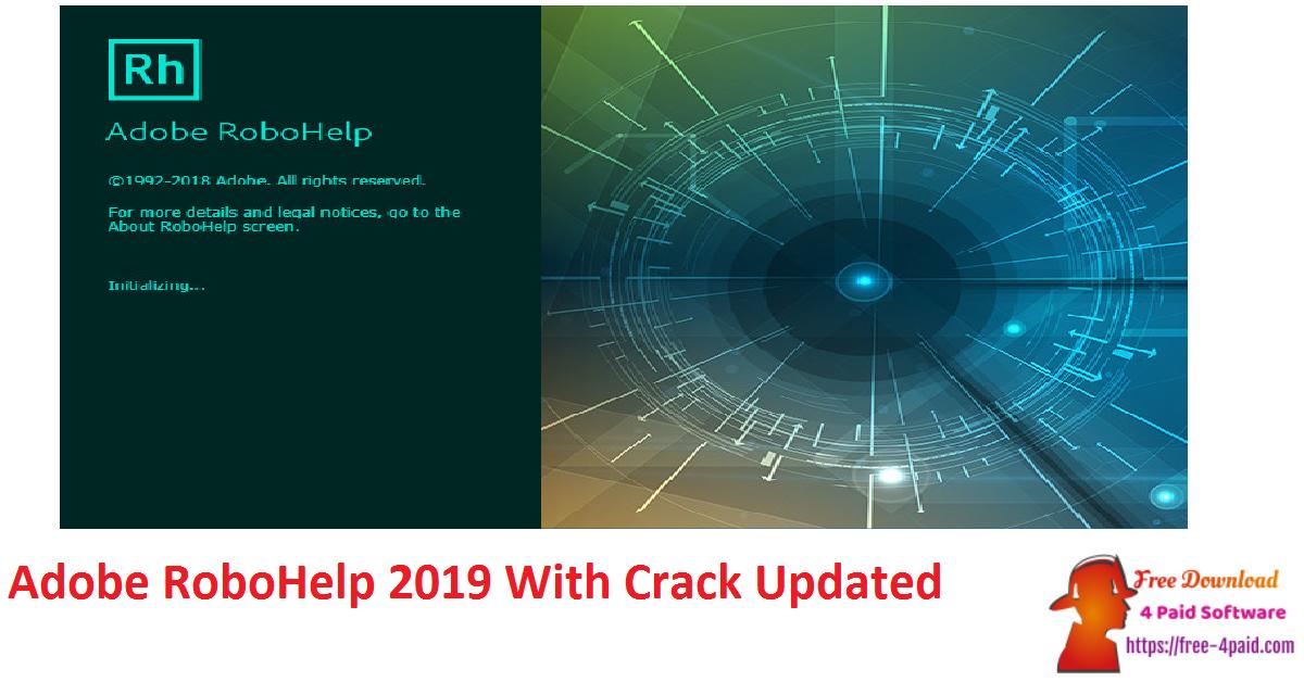 Adobe RoboHelp 2019 With Crack Updated