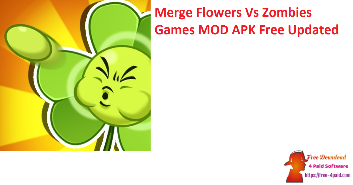 Merge Flowers Vs Zombies Games V2.9 MOD APK Free Updated