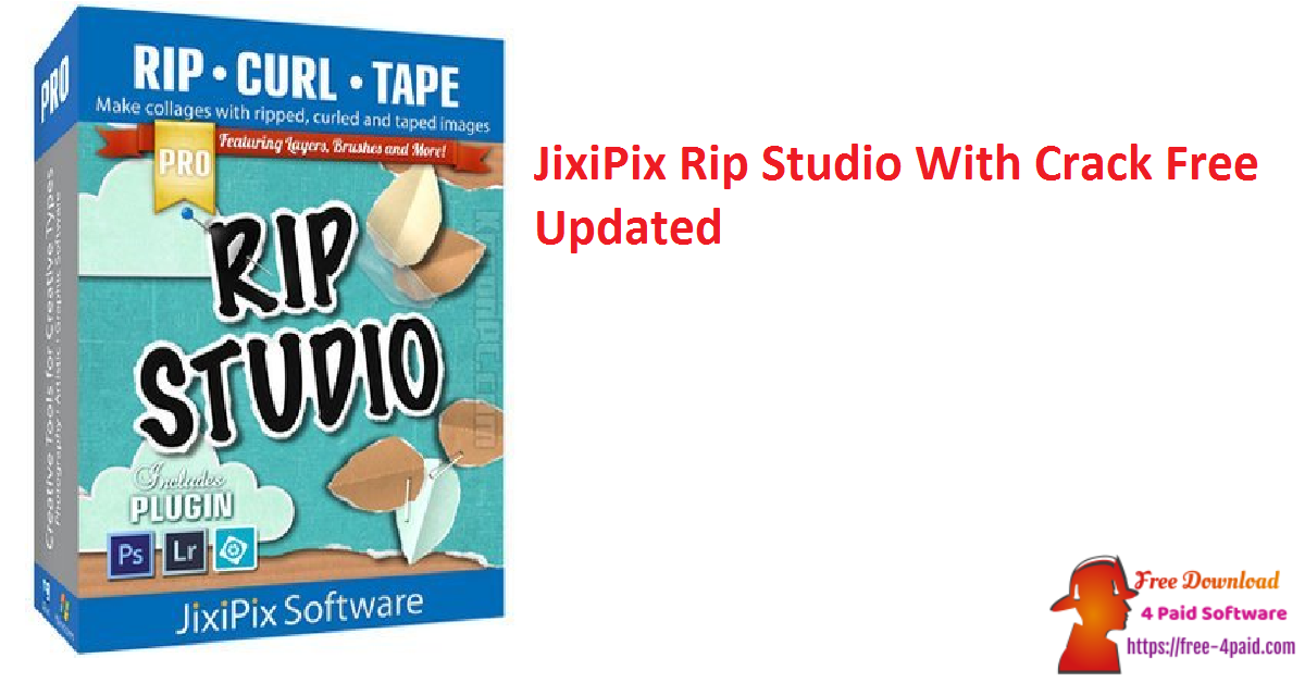 JixiPix Rip Studio 1.1.13 With Crack Free [Updated]