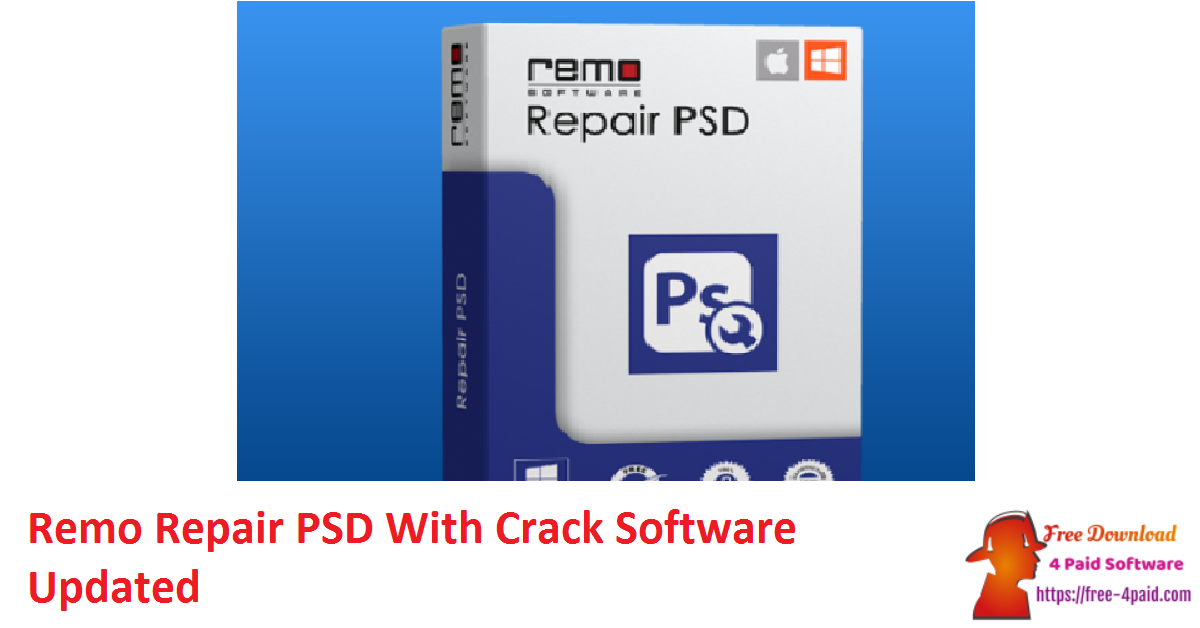Remo Repair PSD 1.0.0.25 With Crack Software [Updated]