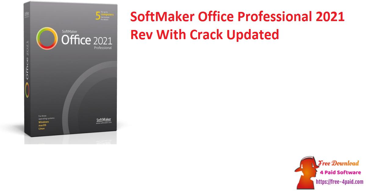 SoftMaker Office Professional 2021 Rev 1024.1204 Crack [Updated]