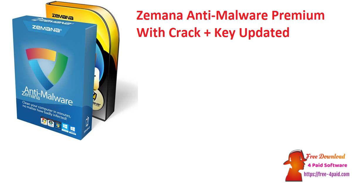 Zemana Anti-Malware Premium 3.2.27 With Crack + Key [Updated]