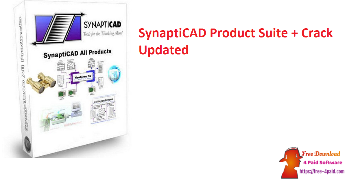 SynaptiCAD Product Suite 20.44 + Crack [Updated]