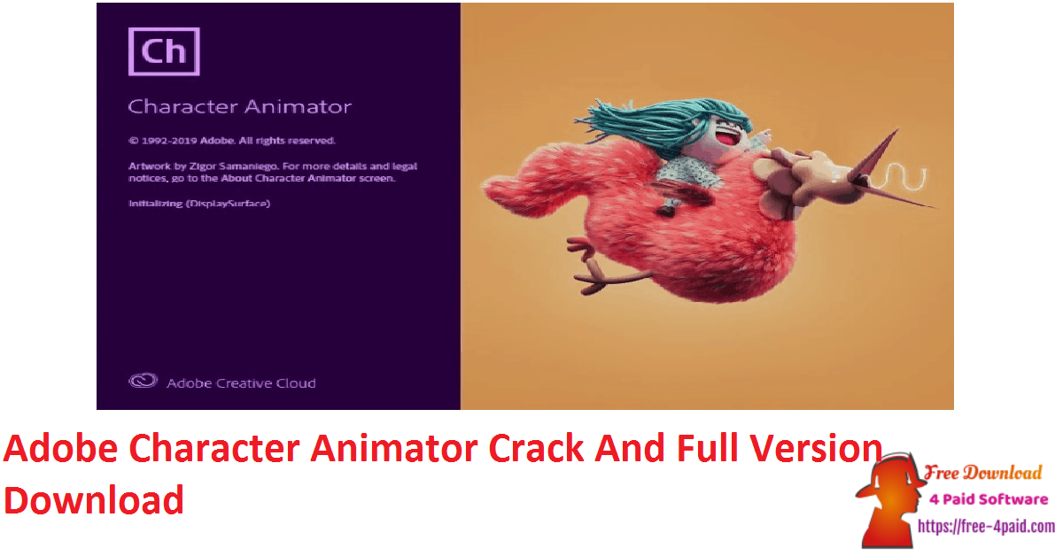 Adobe Character Animator Crack And Full Version Download