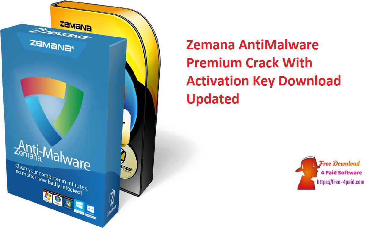 Zemana AntiMalware Premium Crack 3.2.27 With Activation Key Download [Updated]