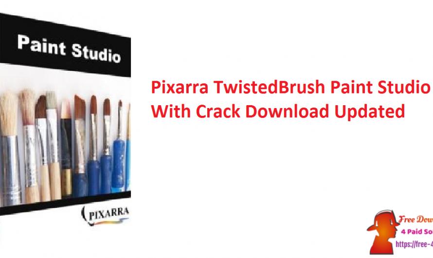 Pixarra TwistedBrush Paint Studio 3.02 With Crack Download [Updated]