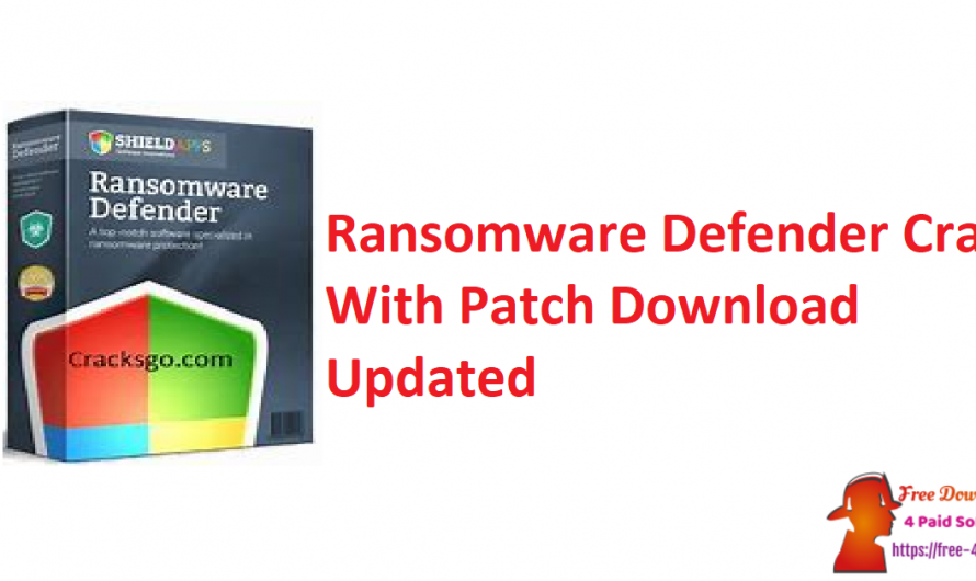 Ransomware Defender Crack 4.2.3 With Patch Download [Updated]