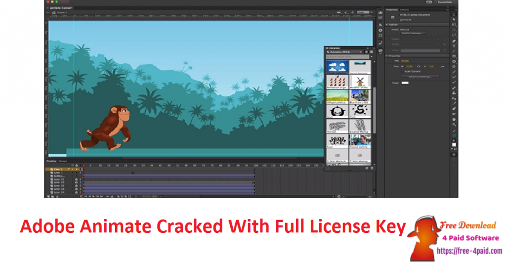 Adobe Animate Cracked With Full License Key