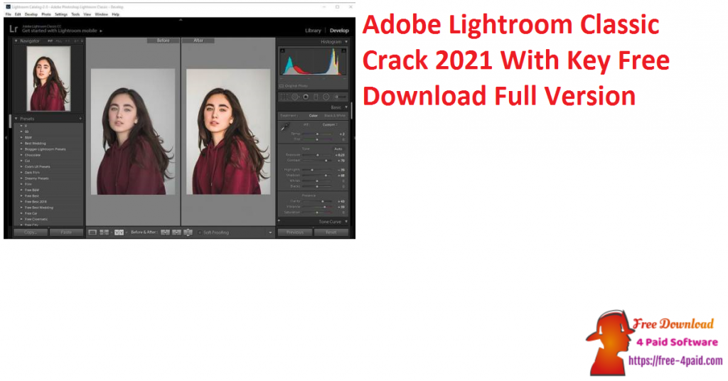 Adobe Lightroom Classic Crack 2021 With Key Free Download Full Version