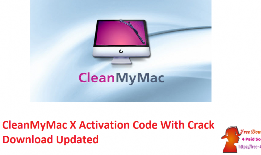 CleanMyMac X Activation Code V4.7.4 With Crack Download [Updated]
