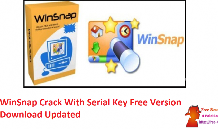 WinSnap Crack 5.2.9 With Serial Key Free Version Download [Updated]