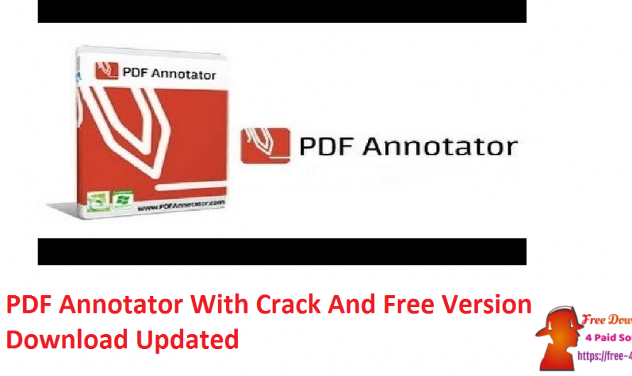 PDF Annotator 8.0.0.821 With Crack And Free Version Download [Updated]