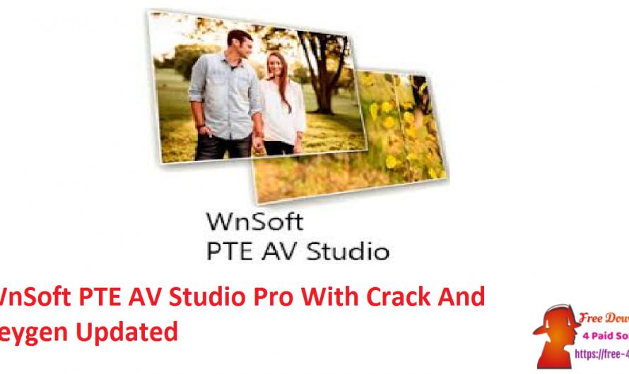 WnSoft PTE AV Studio Pro 10.0.14 Build 1 Crack Keygen [Updated]