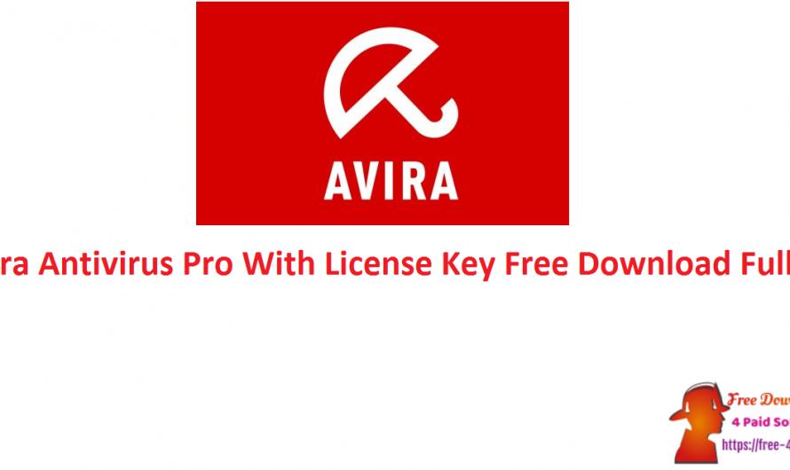 Avira Antivirus Pro 15.0.2101.2070 With License Key Free Download Full