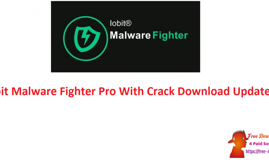 IObit Malware Fighter Pro 8.4.0.760 With Crack Download [Updated]