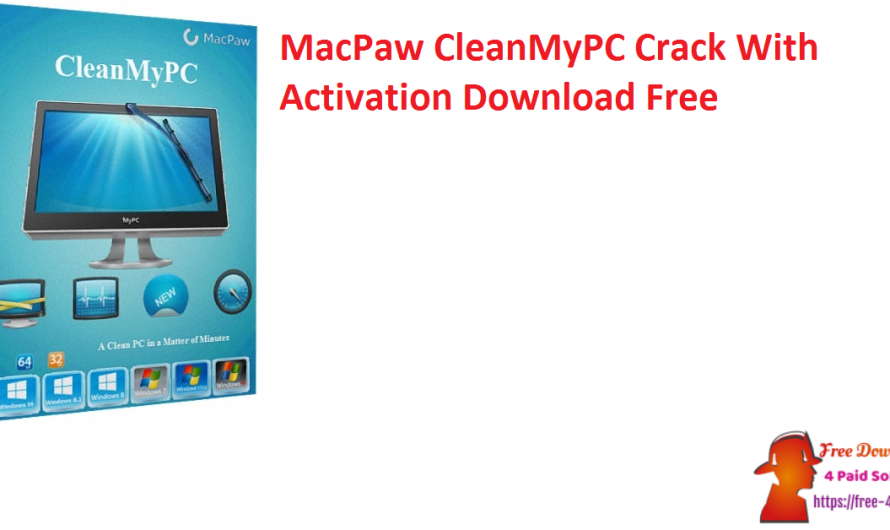 MacPaw CleanMyPC Crack 1.10.7.2050 With Activation Download Free