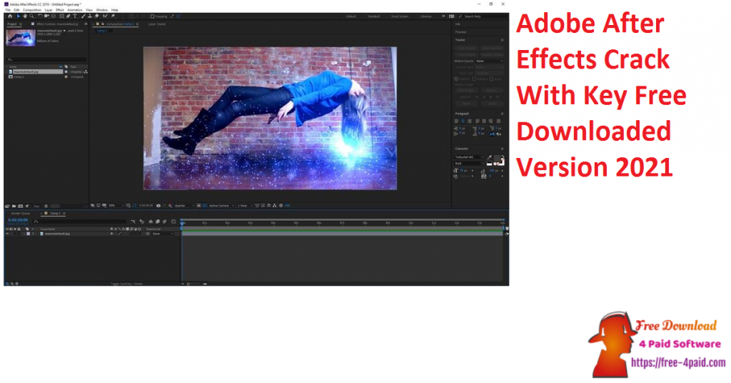 Adobe After Effects Crack With Key Free Downloaded Version 2021