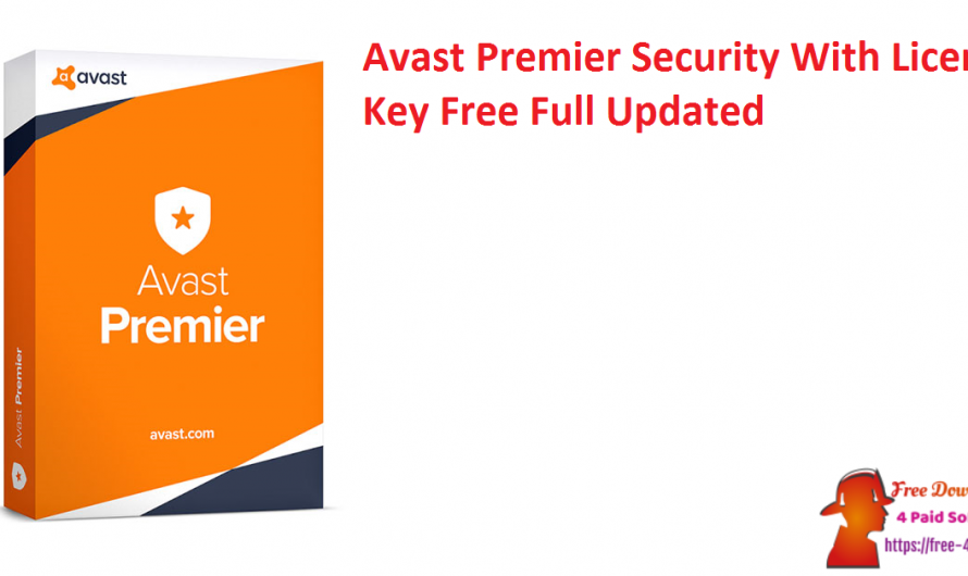 Avast Premier Security 21.1.2450 With License Key Free Full Updated
