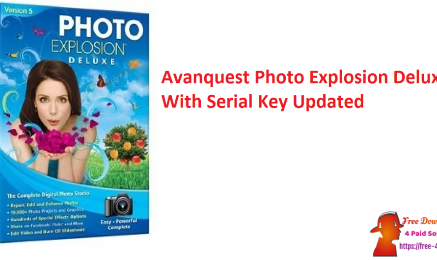 Avanquest Photo Explosion Deluxe 5.09.31216 With Serial Key [Updated]